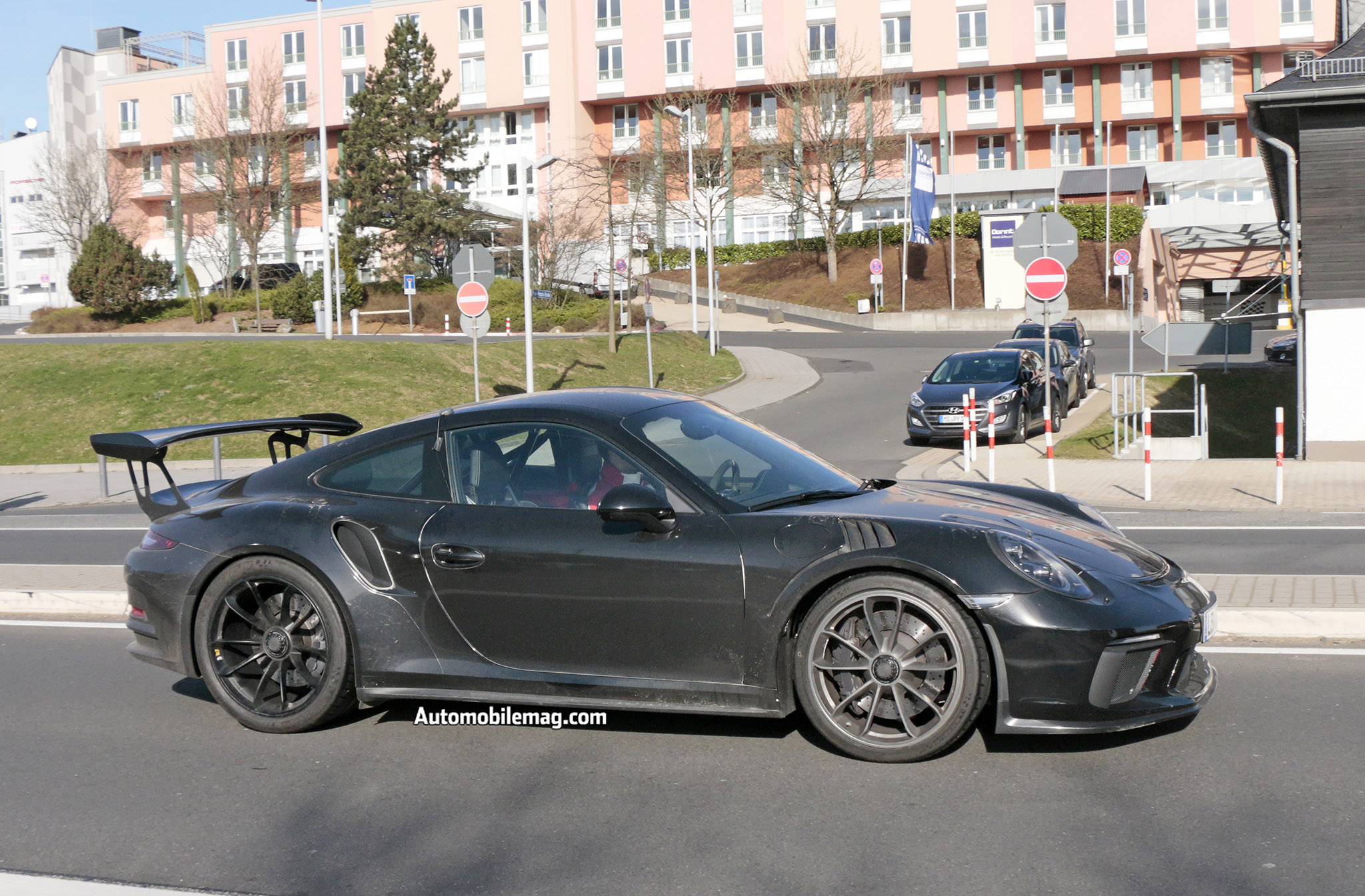 2018 porsche gt3 rs and gt2 rs spied automobile magazine. Black Bedroom Furniture Sets. Home Design Ideas