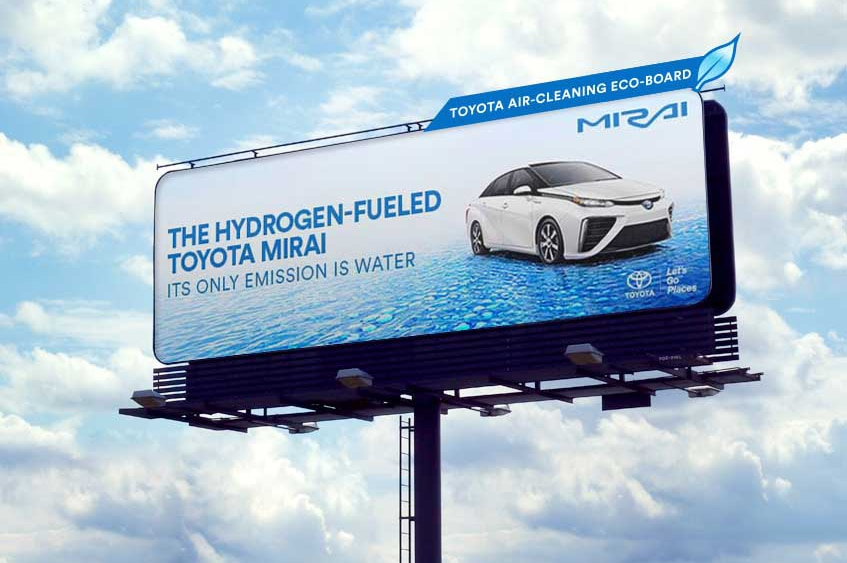 Toyota Mirai Eco Billboard Technology 1