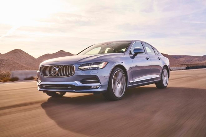 Volvo S90 2017 All Stars Contender Front Three Quarter In Motion 02 660x440