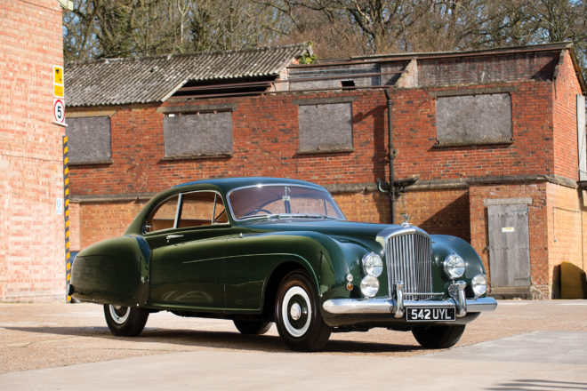 1953 Bentley R Type Continental Sports Saloon front three quarter