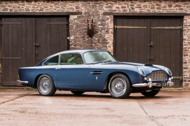 1964 Aston Martin DB5 Bonhams Front Three Quarters
