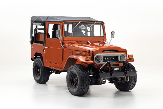 1972 Toyota FJ40 Tonka Front Three Quarters 660x440