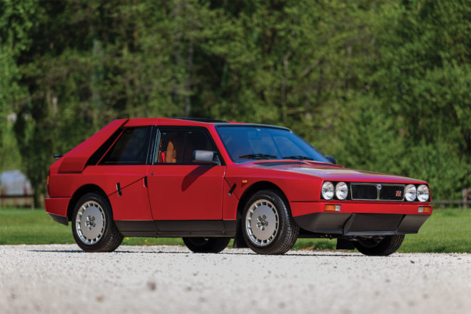 1985 Lancia Delta S4 Stradale front three quarter