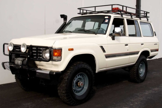 1985 Toyota FJ 60 Palm Beach 2017