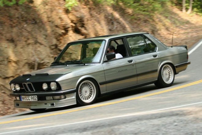 1986 BMW Alpina B7 Turbo Just Listed In Motion 660x440