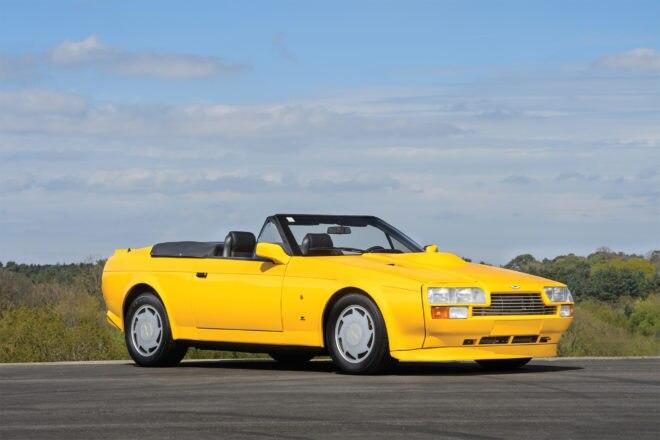 1989 Aston Martin V8 Vantage Volante Zagato Front Three Quarter 660x440
