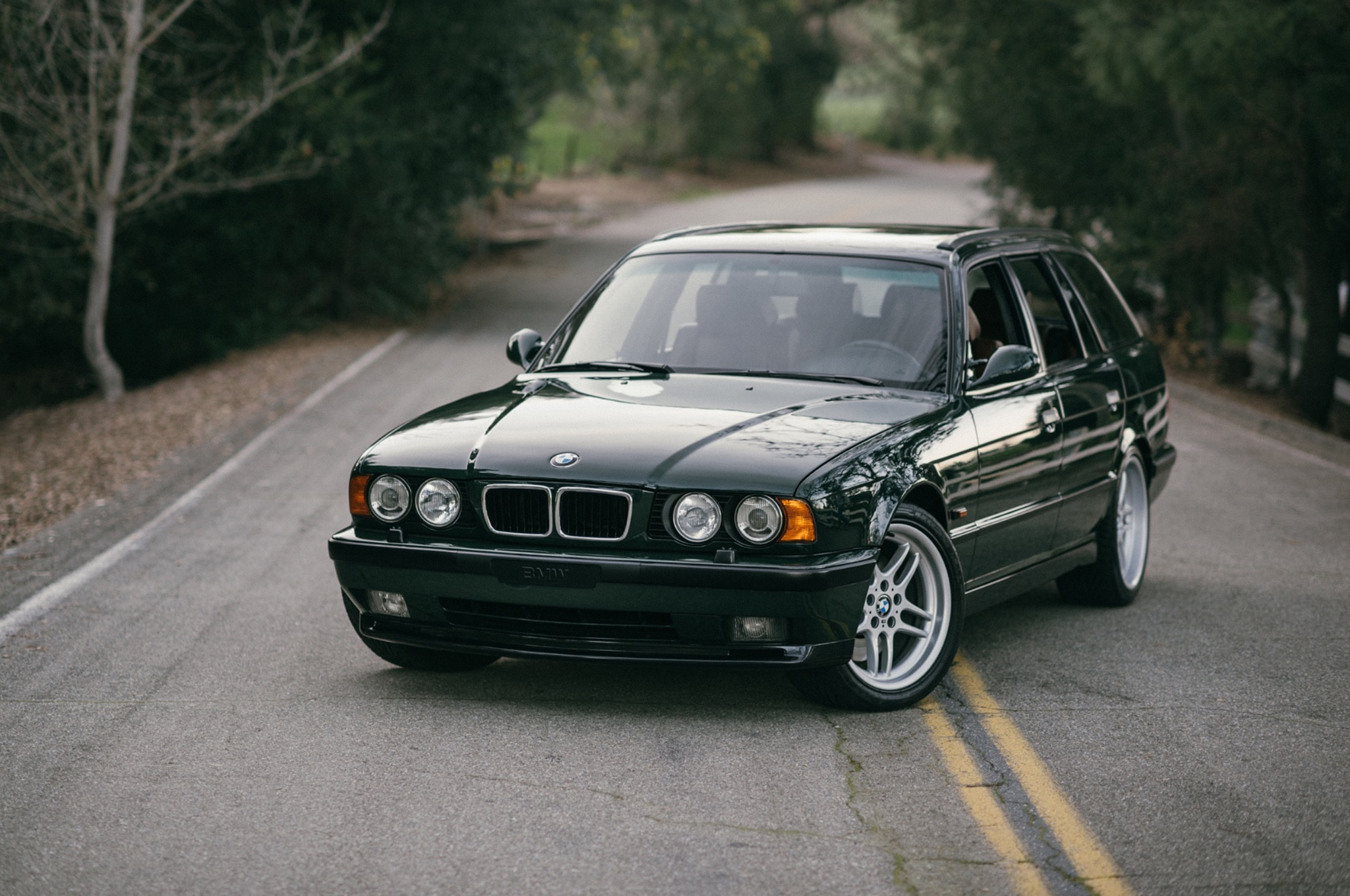 1995 BMW M5 Touring Elekta Bring A Trailer Front Three Quarters