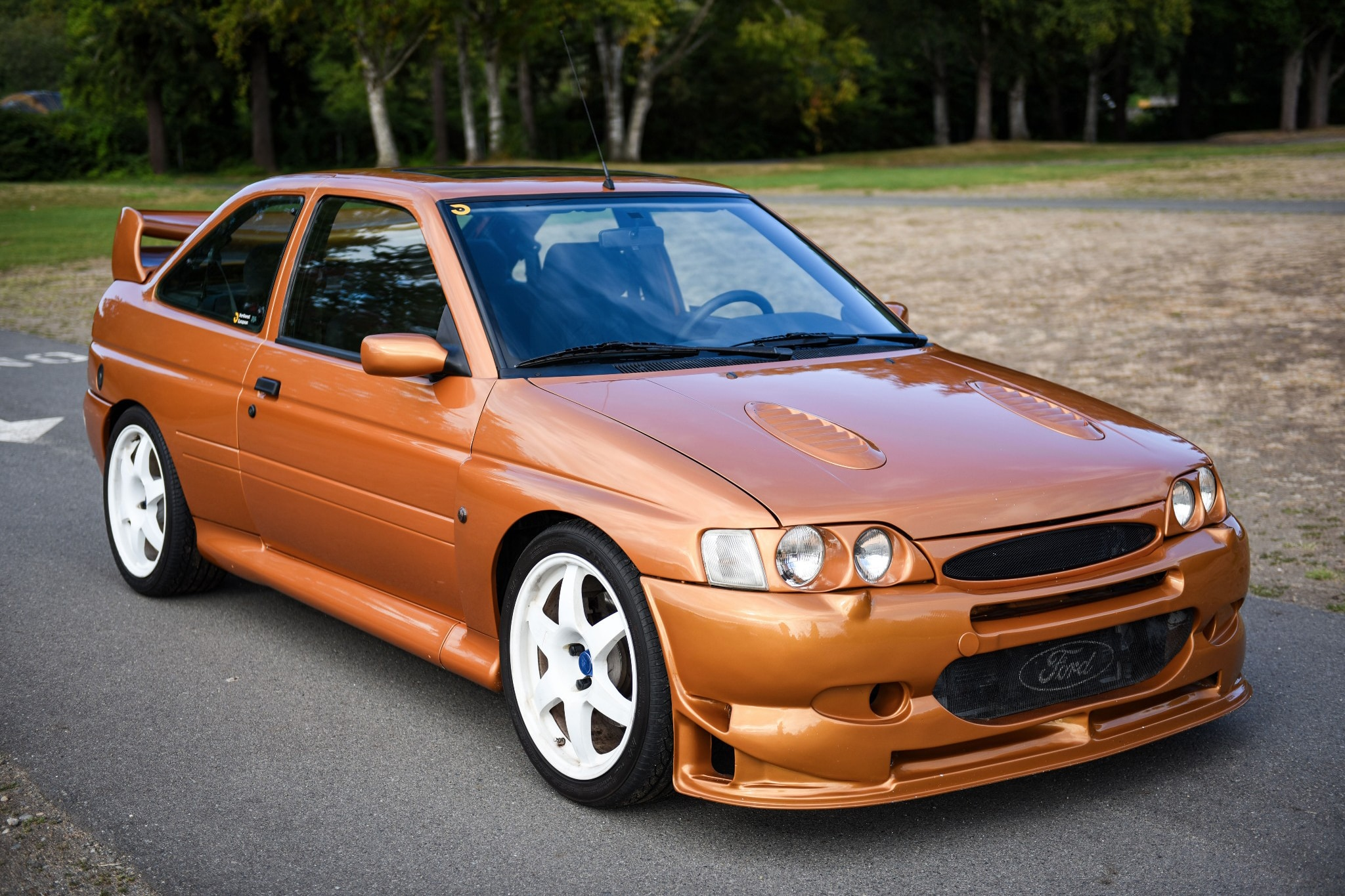 1995 Ford Escort RS Cosworth Just Listed Front Three Quarters