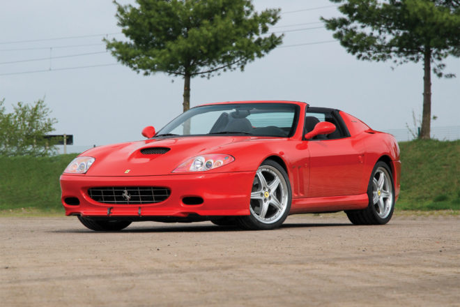 2006 Ferrari 575M Superamerica front three quarter