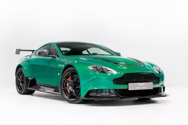 2016 Aston Martin Vantage GT12 Bonhams Front Three Quarters