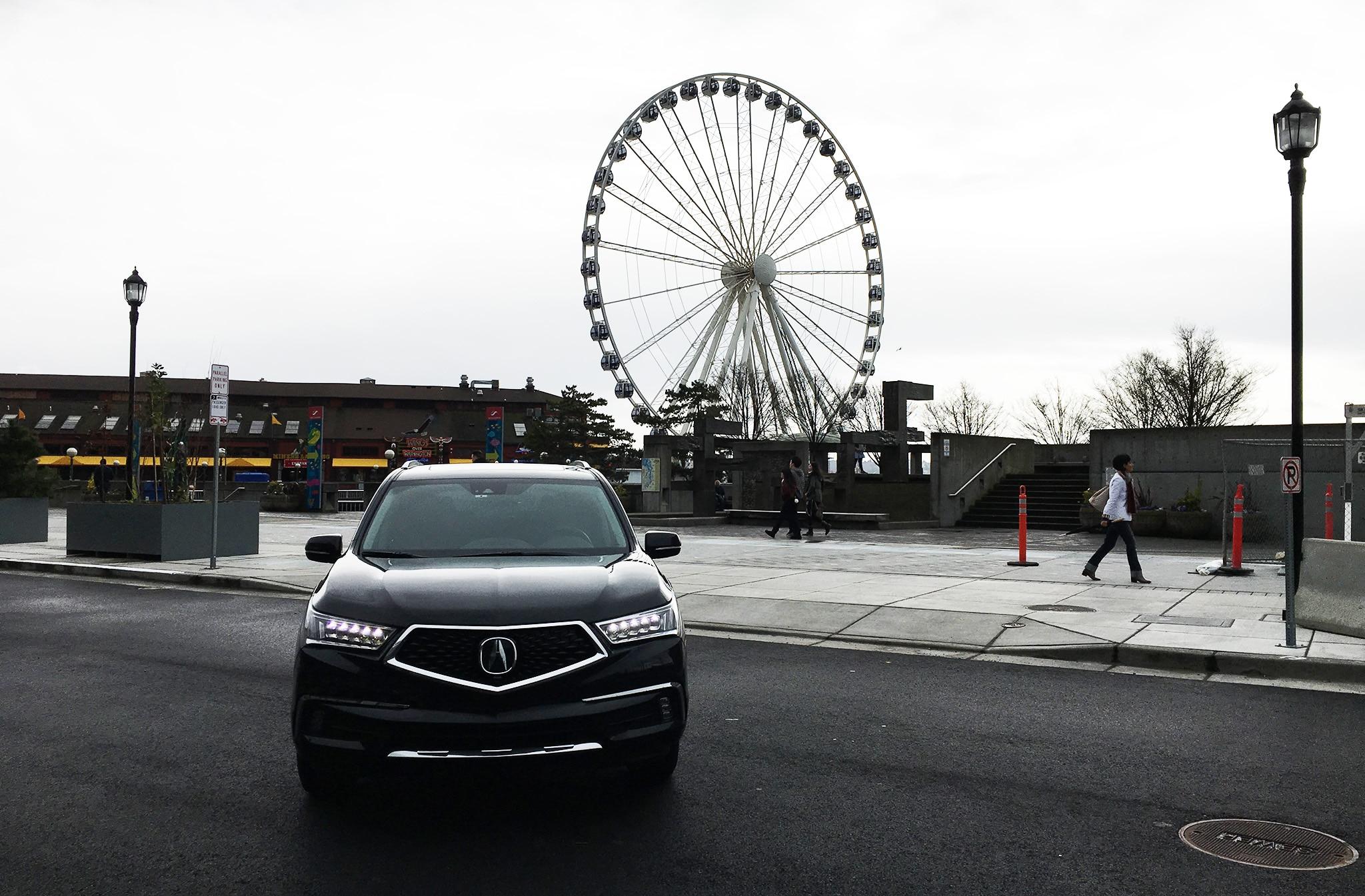 2017 Acura MDX Sport Hybrid SH AWD Ferris Wheel