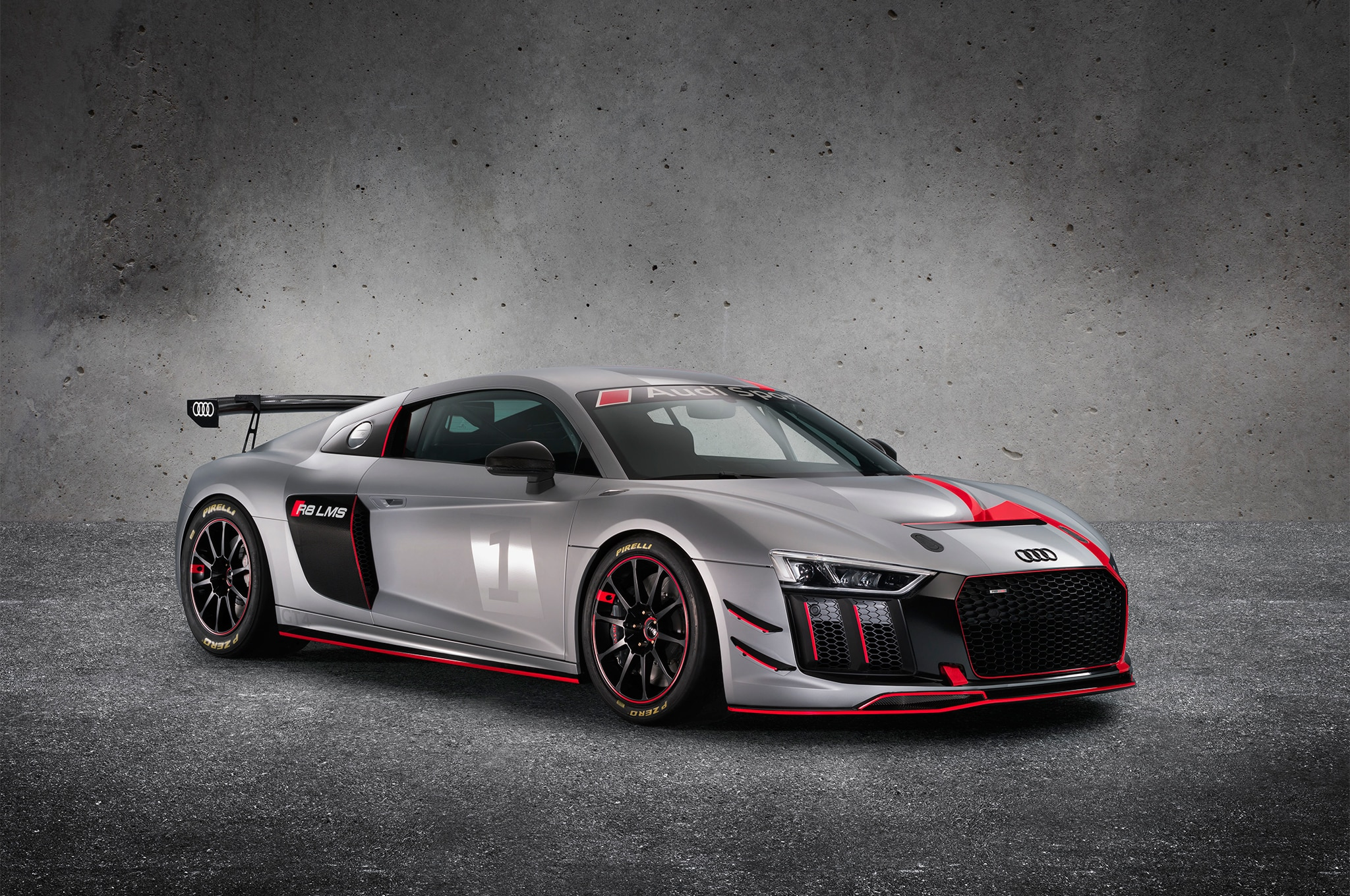 2017 Audi R8 GT4 Front Three Quarter 01