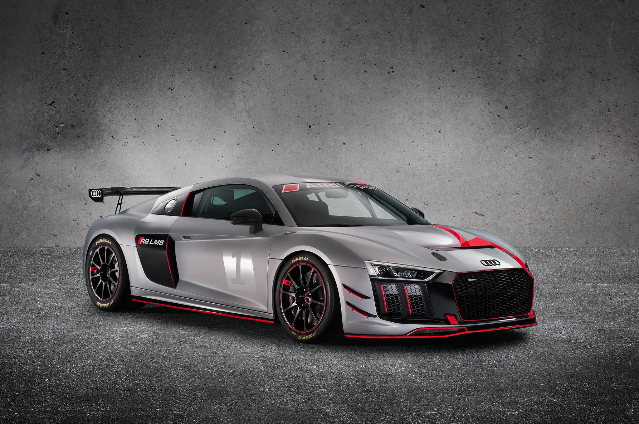 2017 Audi R8 GT4 Front Three Quarter 01