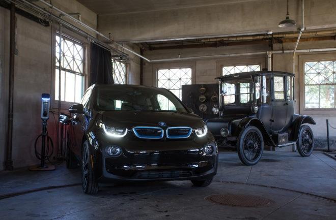 2017 BMW i3 and Edison