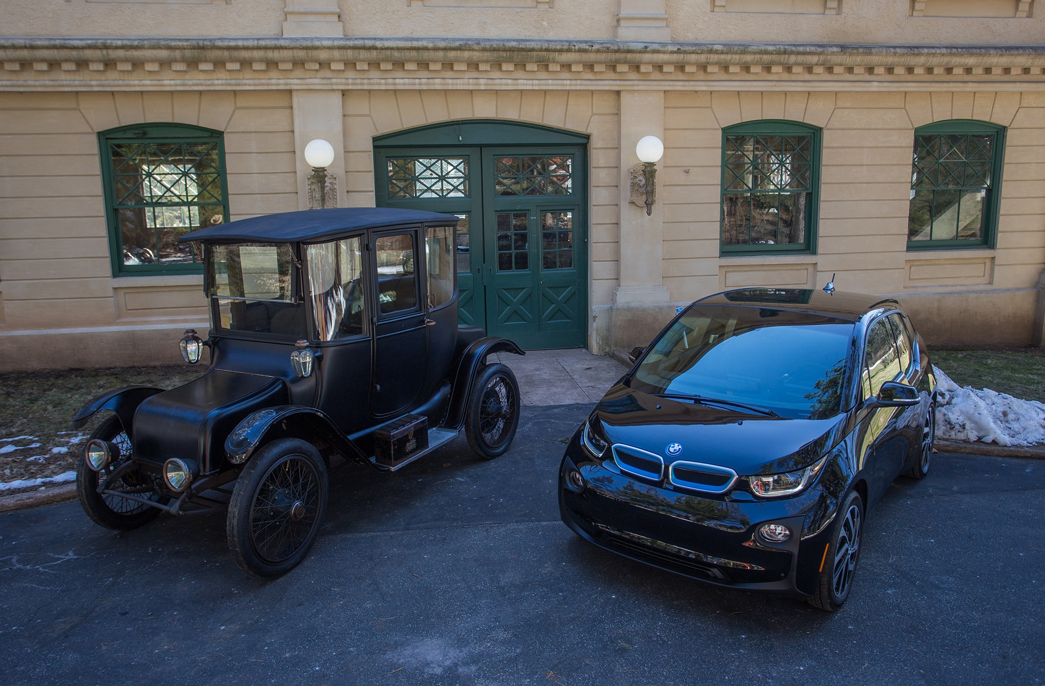 2017 BMW I3 And Edison Electric