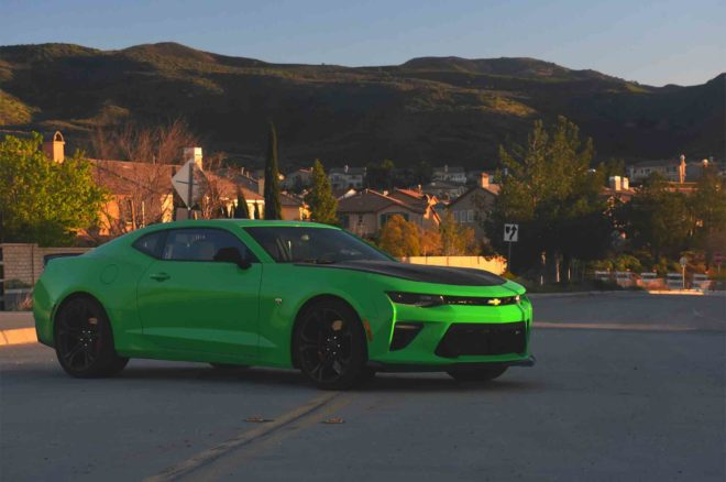 2017 Chevrolet Camaro SS 1LE Front Three Quarter 06 660x438