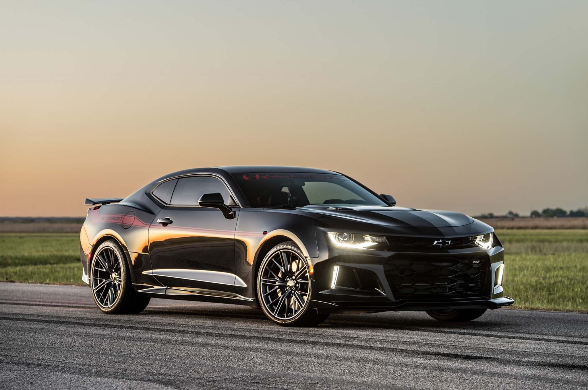 Hennessey Exorcist Camaro Zl1 Makes 959 Horsepower At The