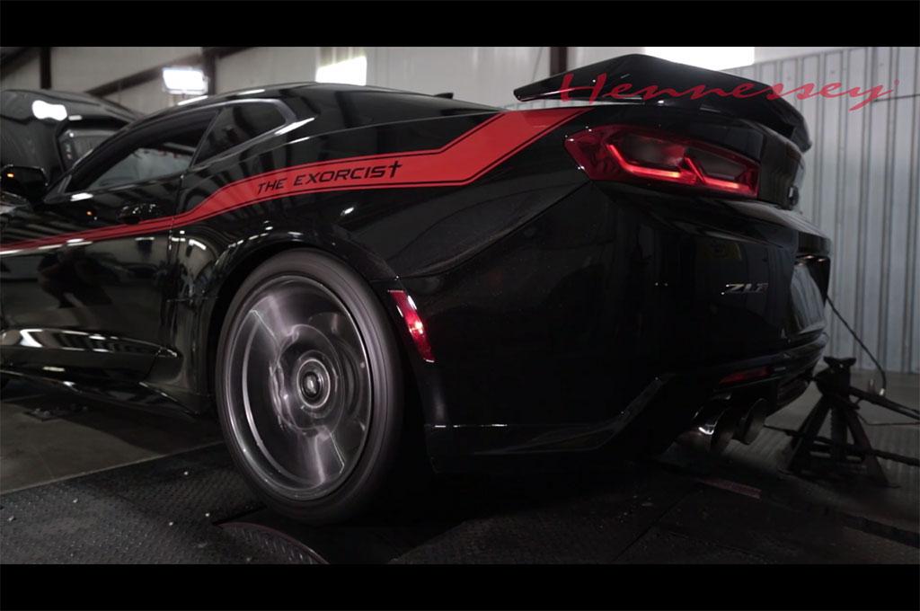 Hennessey Exorcist Camaro Zl1 Makes 959 Horsepower At The