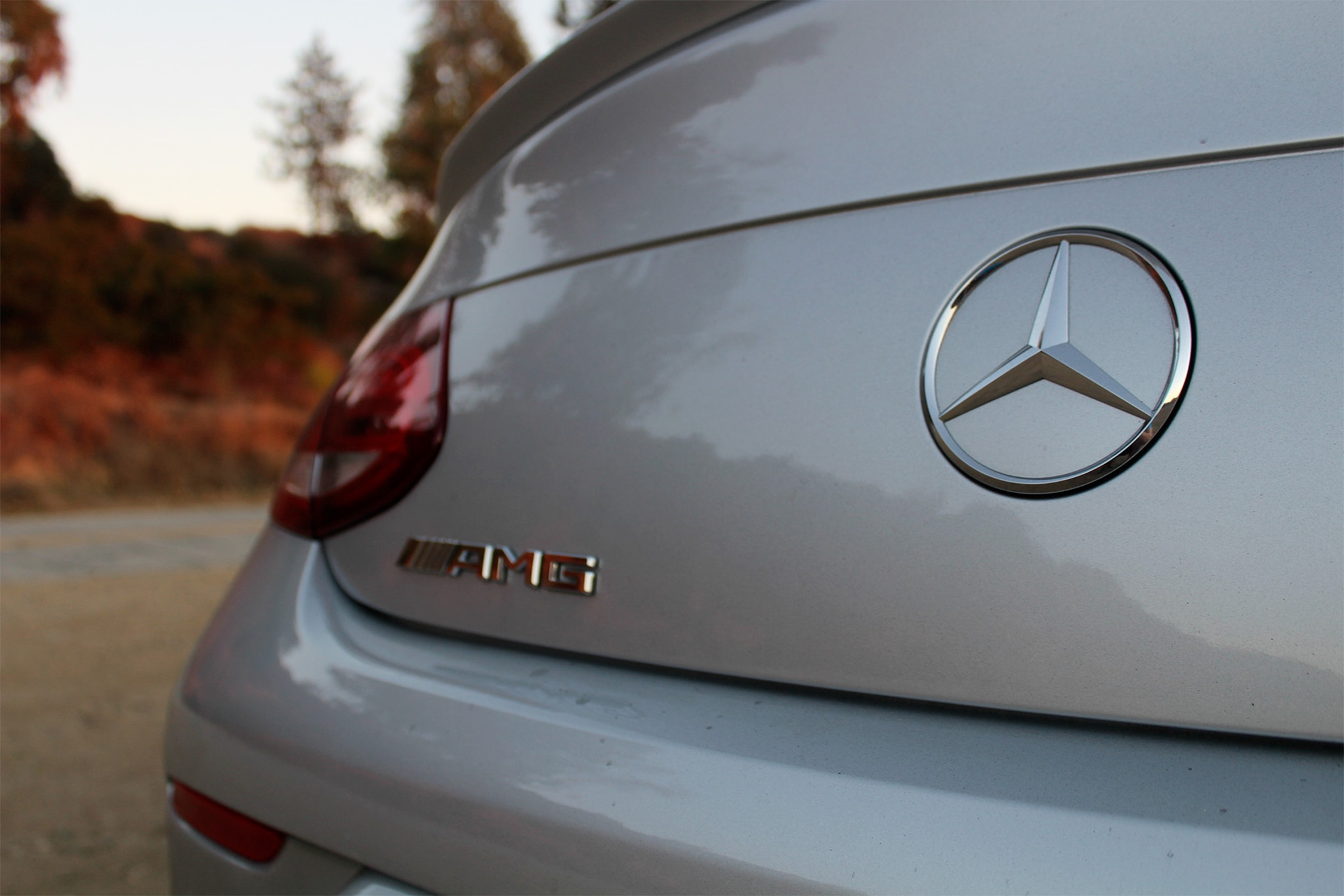 2017 Mercedes AMG C43 Coupe Badge 03