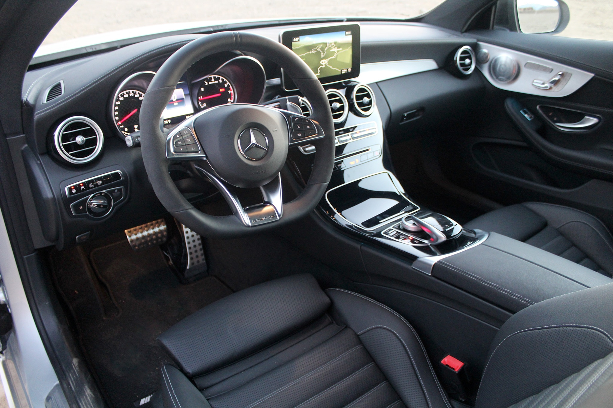 2017 Mercedes AMG C43 Coupe Cabin