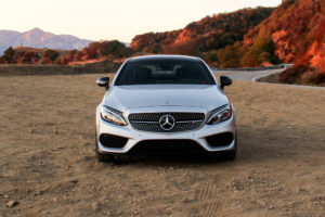 2017 Mercedes AMG C43 Coupe front view