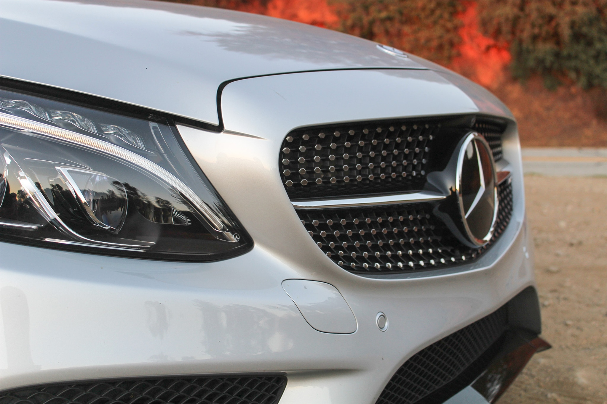 2017 Mercedes AMG C43 Coupe Grille