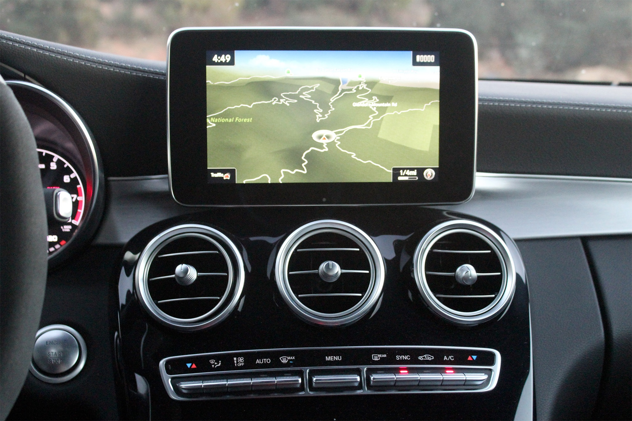 2017 Mercedes AMG C43 Coupe Infotainment