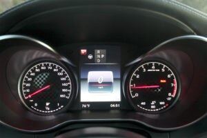 2017 Mercedes AMG C43 Coupe instrument panel