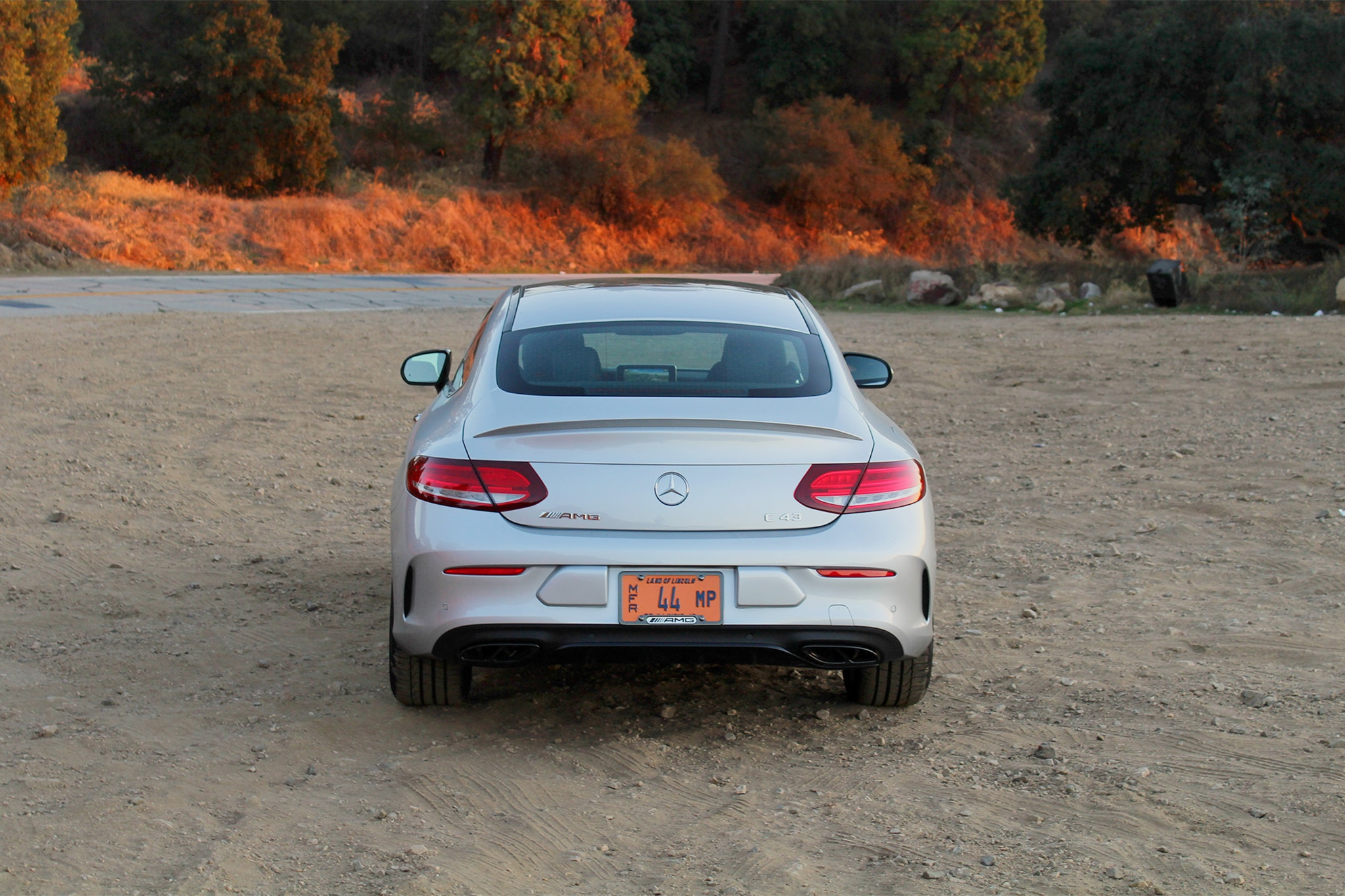 2017 Mercedes AMG C43 Coupe Rear View