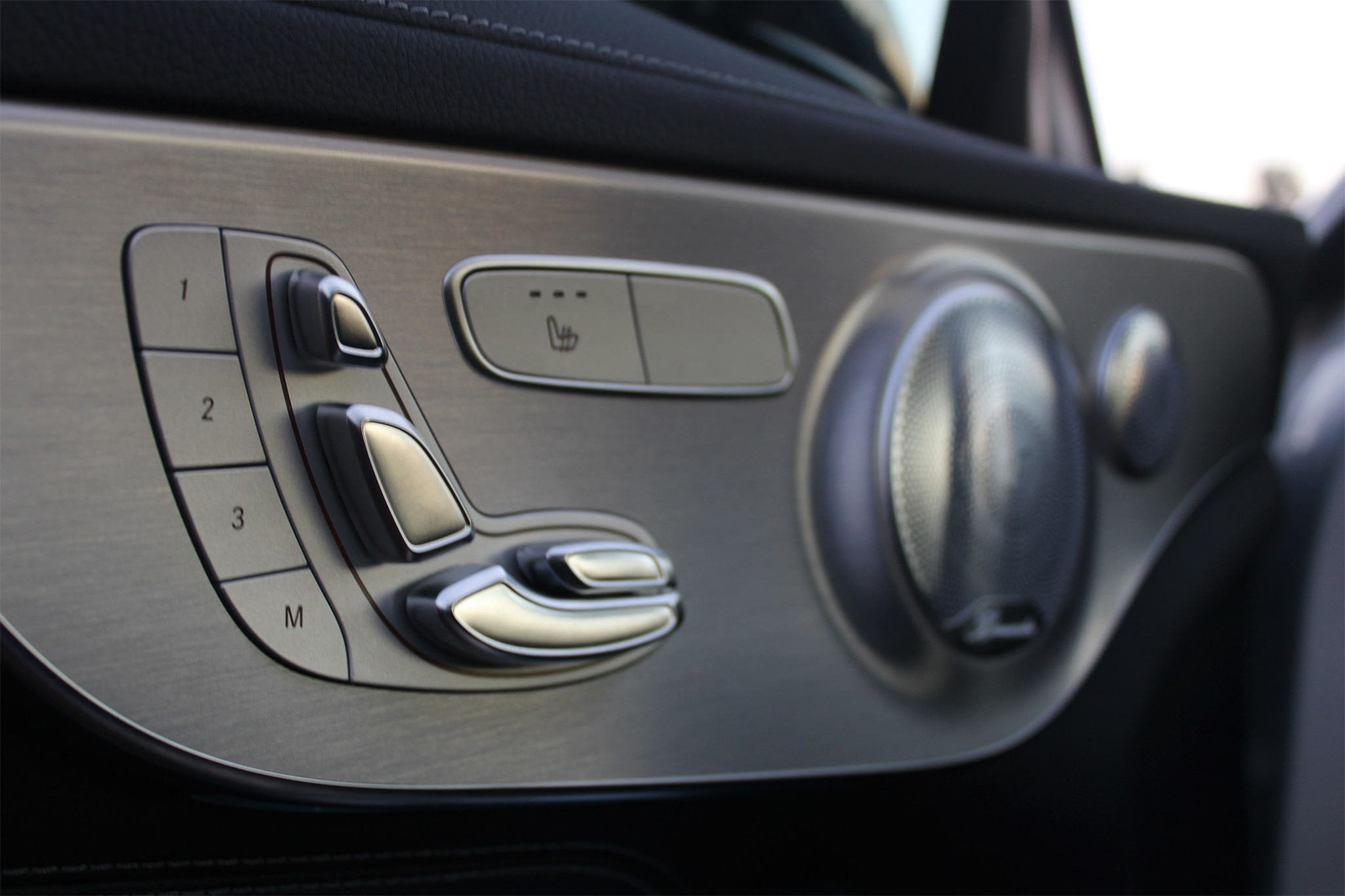 2017 Mercedes AMG C43 Coupe Seat Controls
