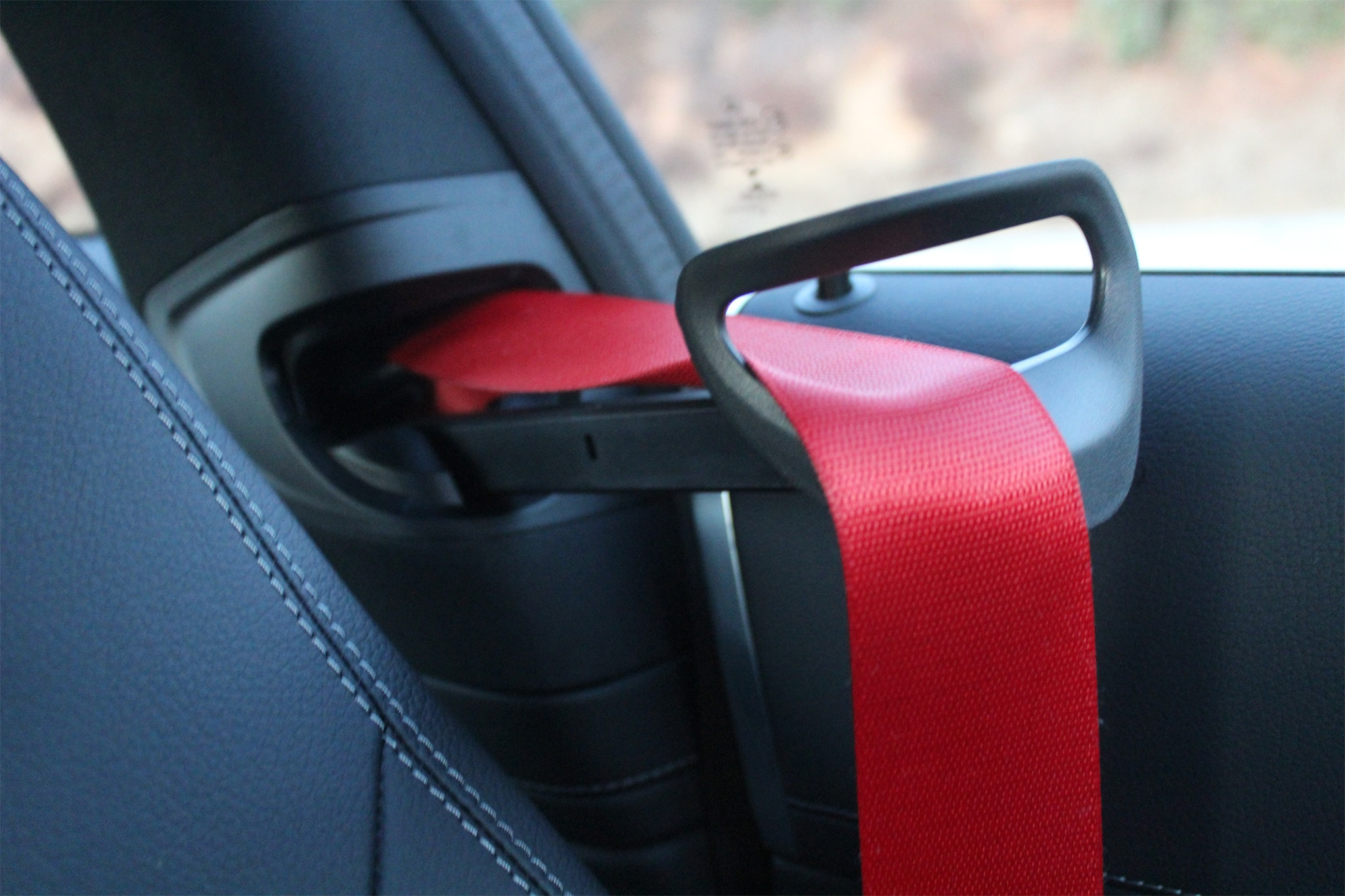 2017 Mercedes AMG C43 Coupe Seatbelt