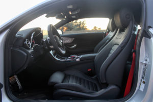 2017 Mercedes AMG C43 Coupe seats