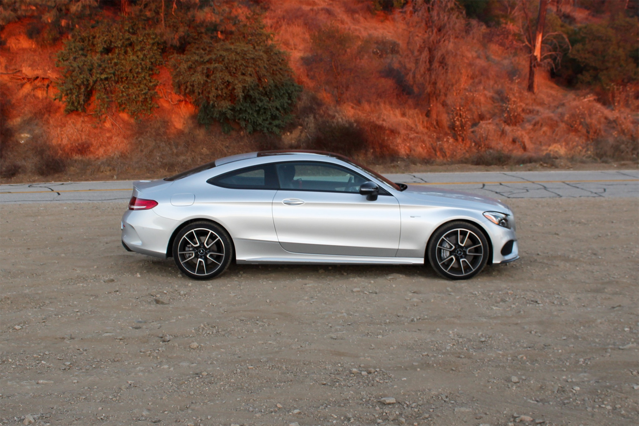2017 Mercedes AMG C43 Coupe Side Profile