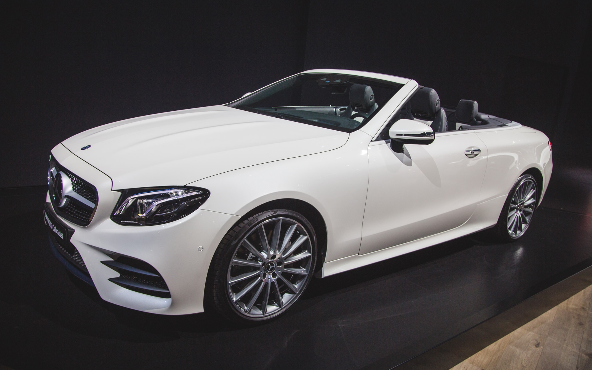 2018 mercedes benz e class cabriolet makes its u s debut
