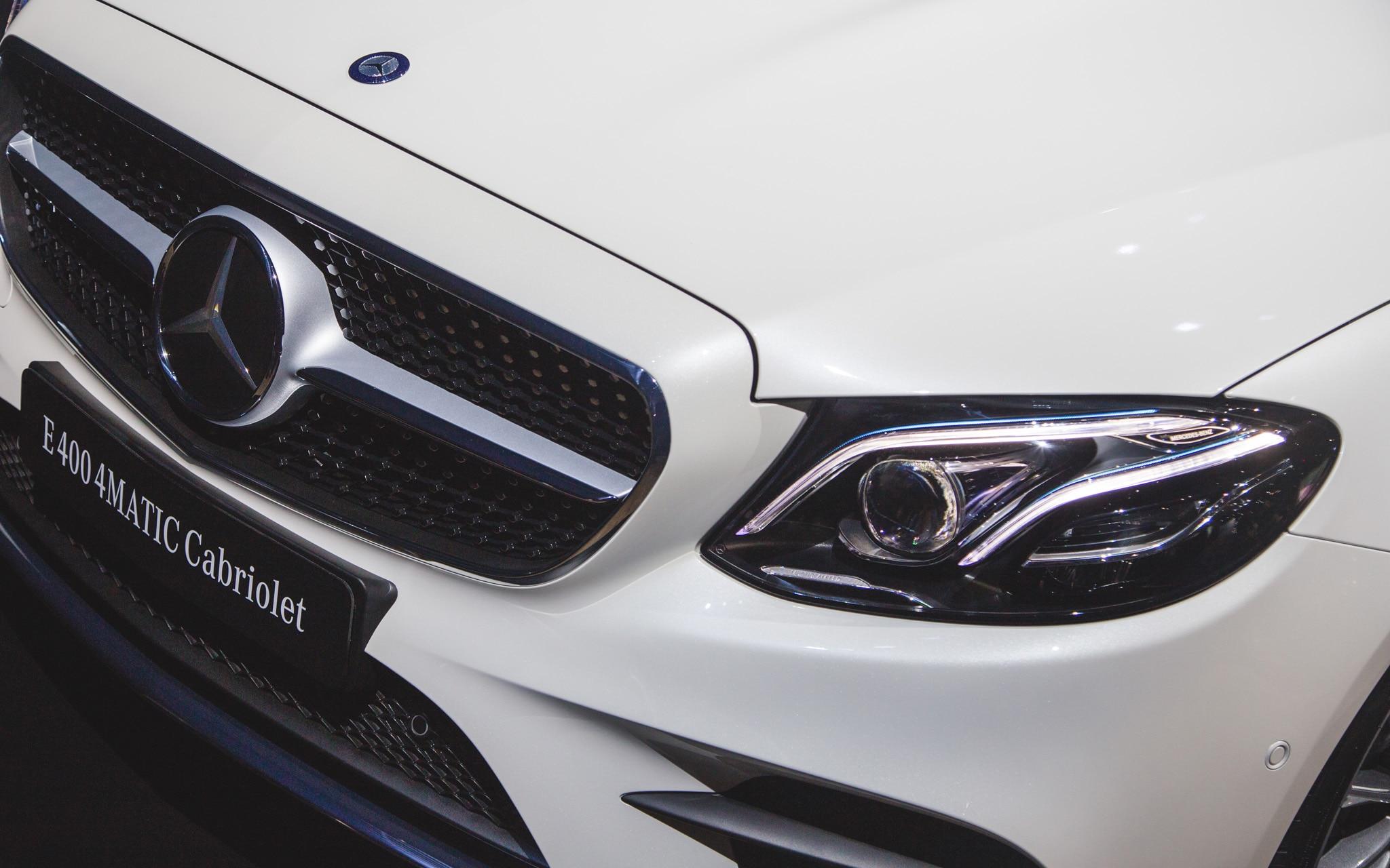 2018 mercedes benz e class cabriolet makes its u s debut for Mercedes benz m class 2017