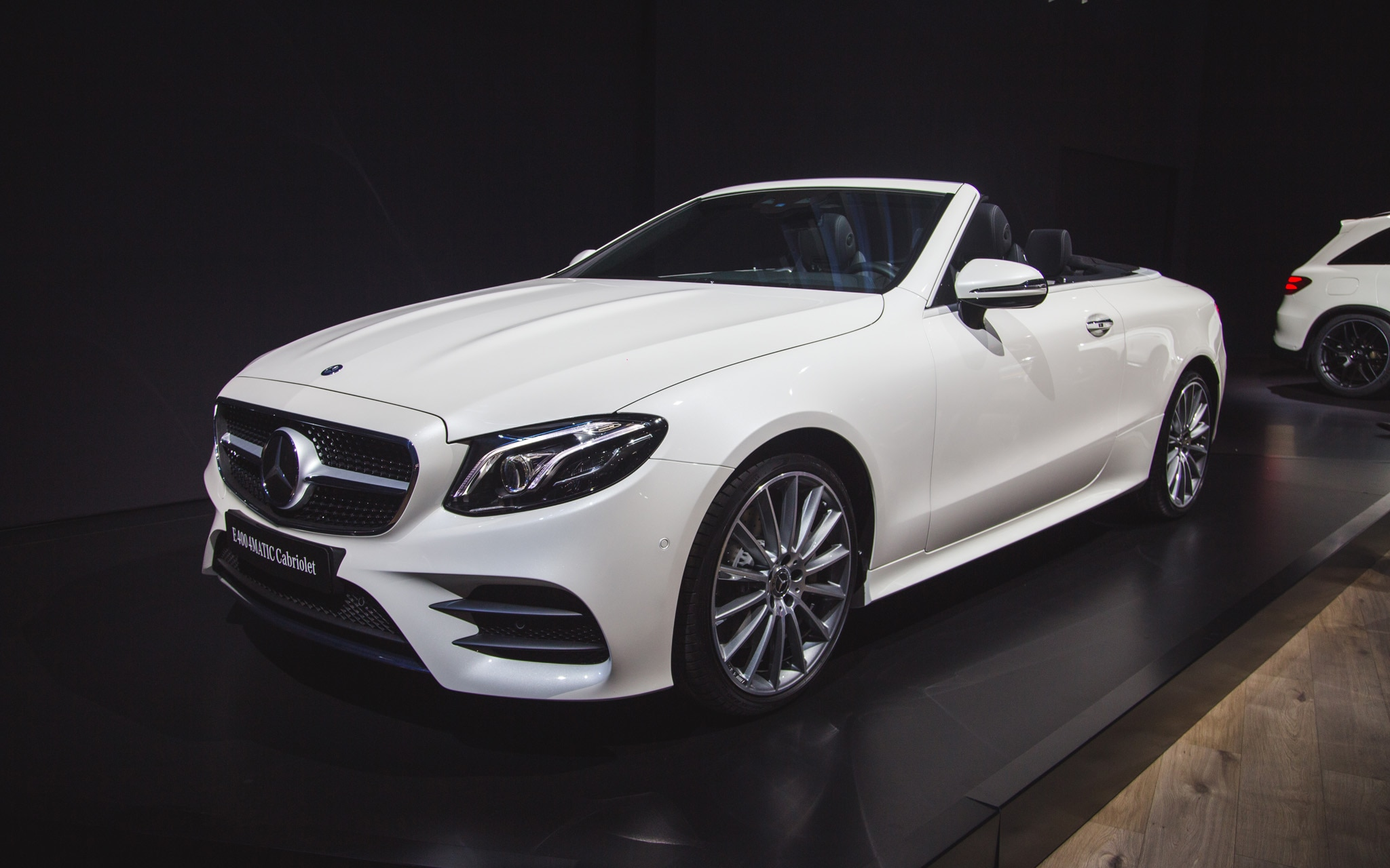 2018 mercedes benz e class cabriolet makes its u s debut for Mercedes benz e350 cabriolet