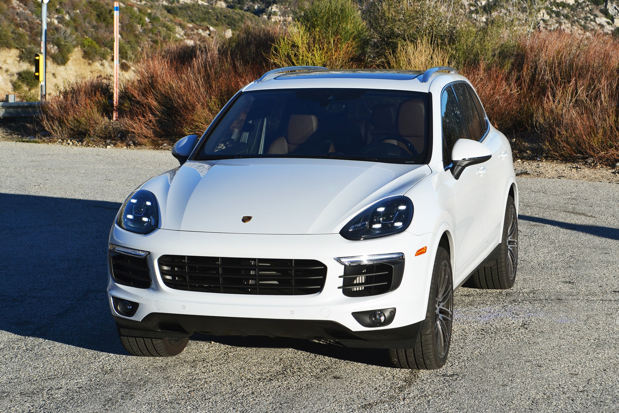 2017 porsche cayenne s one weekend review automobile magazine. Black Bedroom Furniture Sets. Home Design Ideas