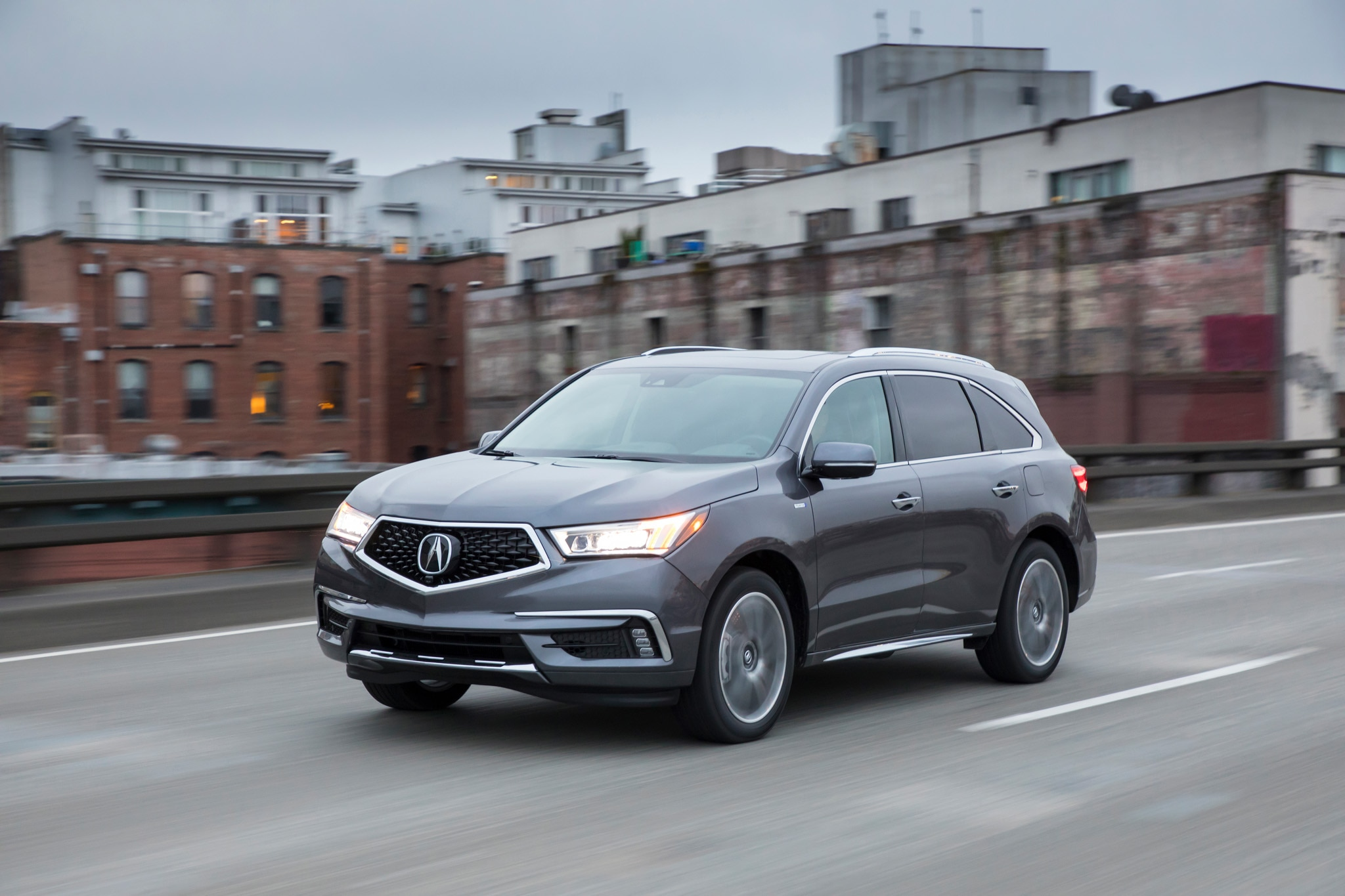 Cool 2017 Acura MDX Sport Hybrid SHAWD First Drive Review  Automobile