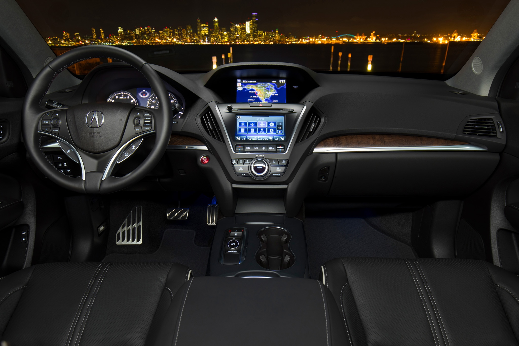 2017 acura mdx sport hybrid sh awd first drive review automobile magazine. Black Bedroom Furniture Sets. Home Design Ideas