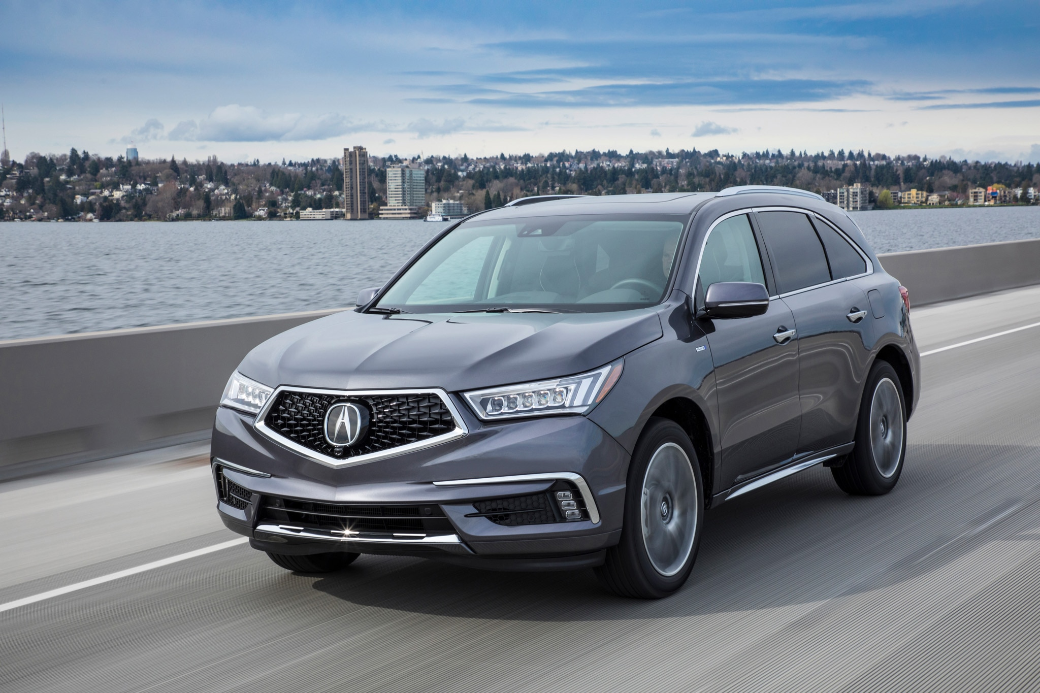 2017 Acura MDX Sport Hybrid SH-AWD First Drive Review ...