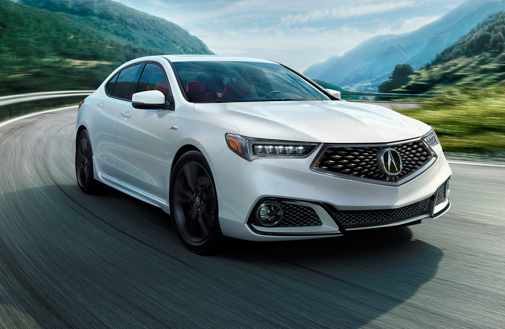 2018 Acura TLX Gets a Midlife Refresh and Brings Back the A-Spec Package | Automobile Magazine