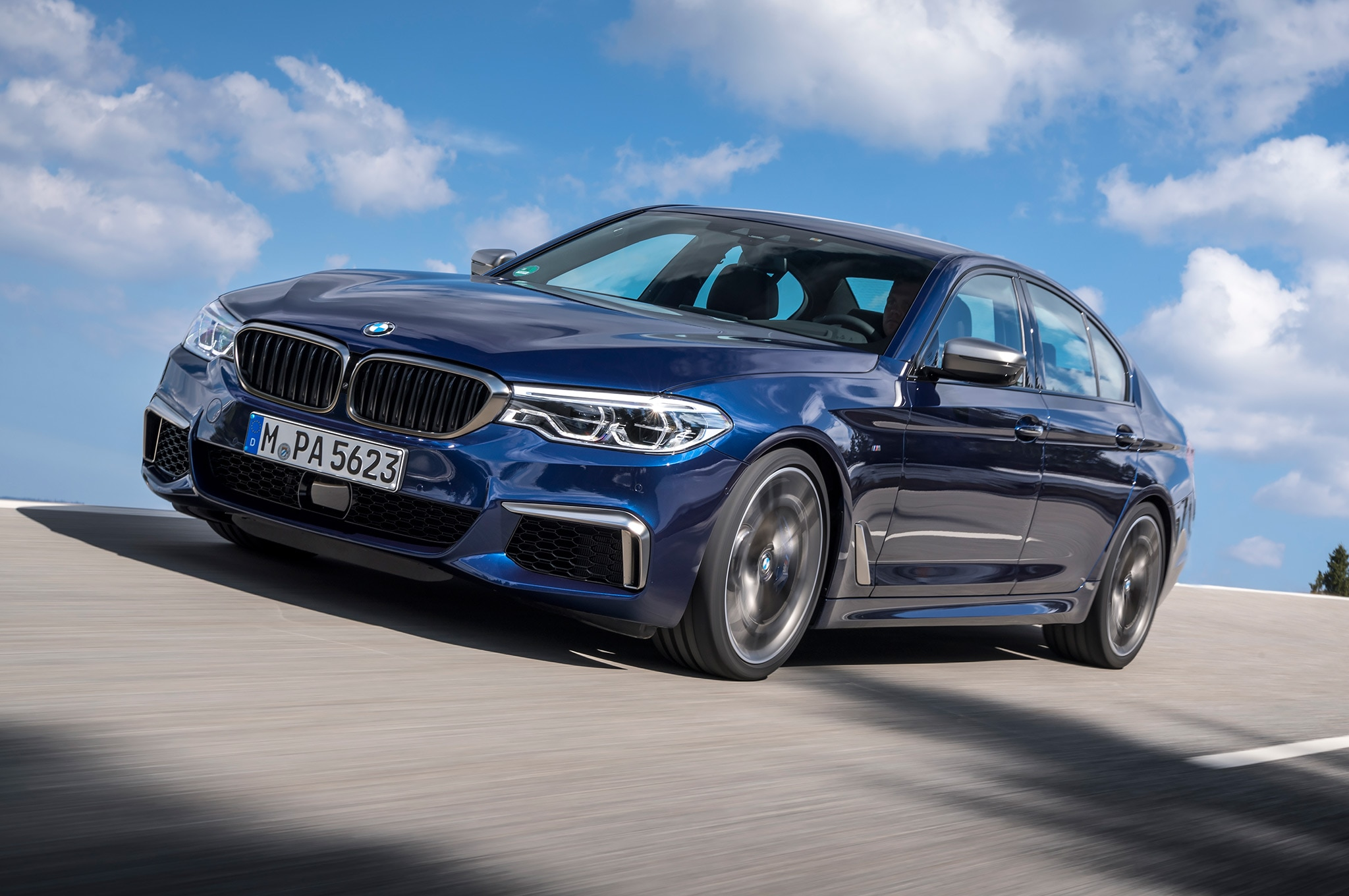 2018 bmw m550i xdrive first drive review automobile magazine. Black Bedroom Furniture Sets. Home Design Ideas