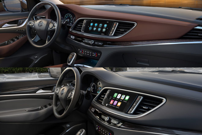 2018 Buick Enclave Avenir Interior Comparison
