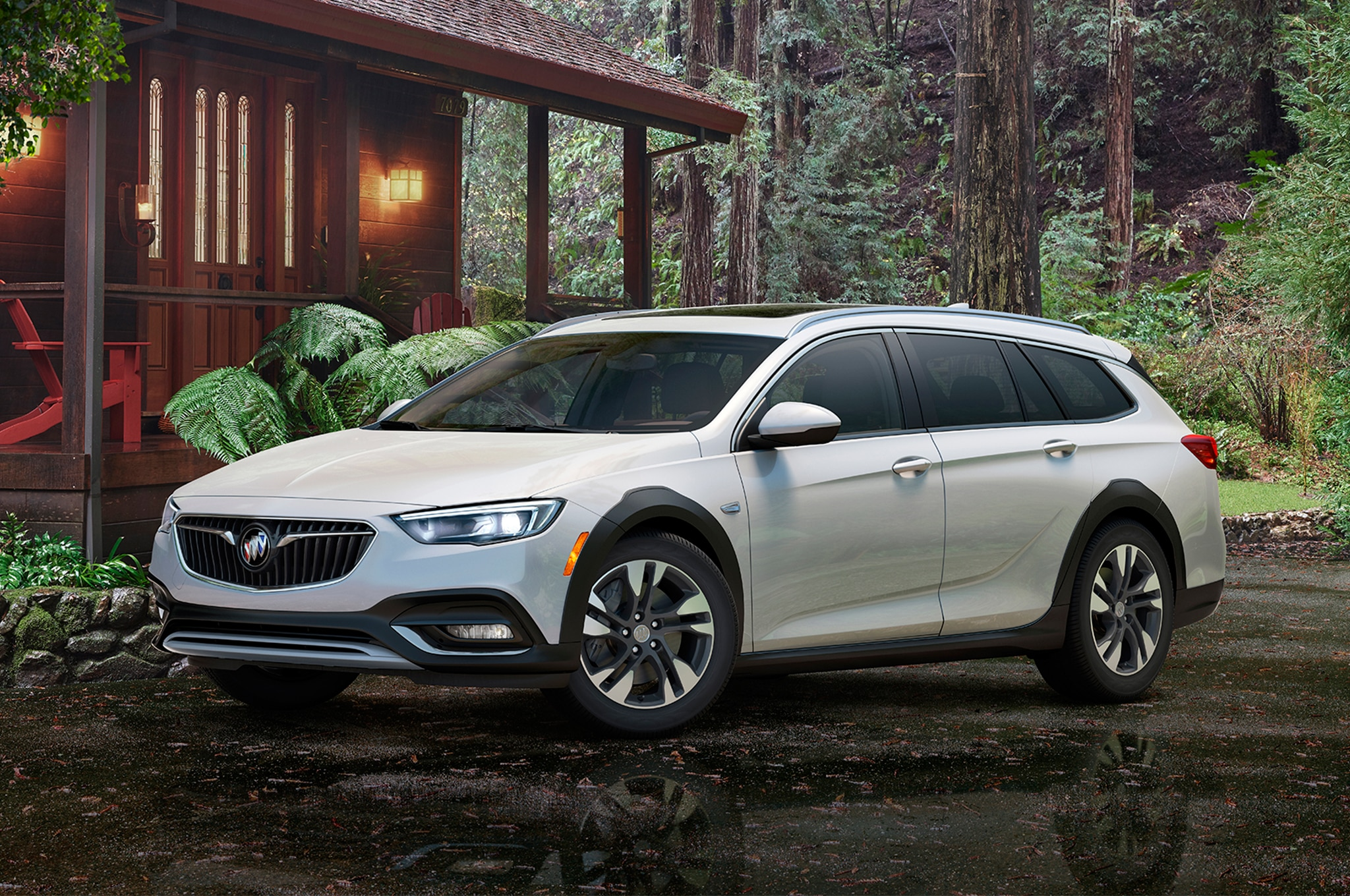 buick unveils 2018 regal and there u0026 39 s no sedan to be seen