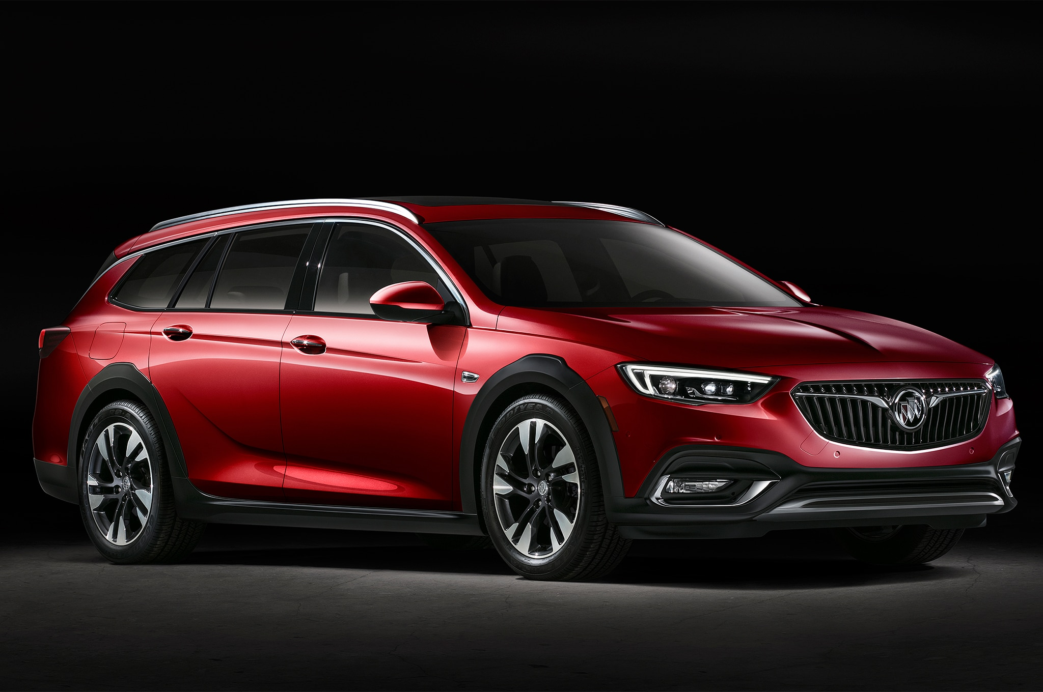buick unveils 2018 regal and there 39 s no sedan to be seen automobile magazine. Black Bedroom Furniture Sets. Home Design Ideas