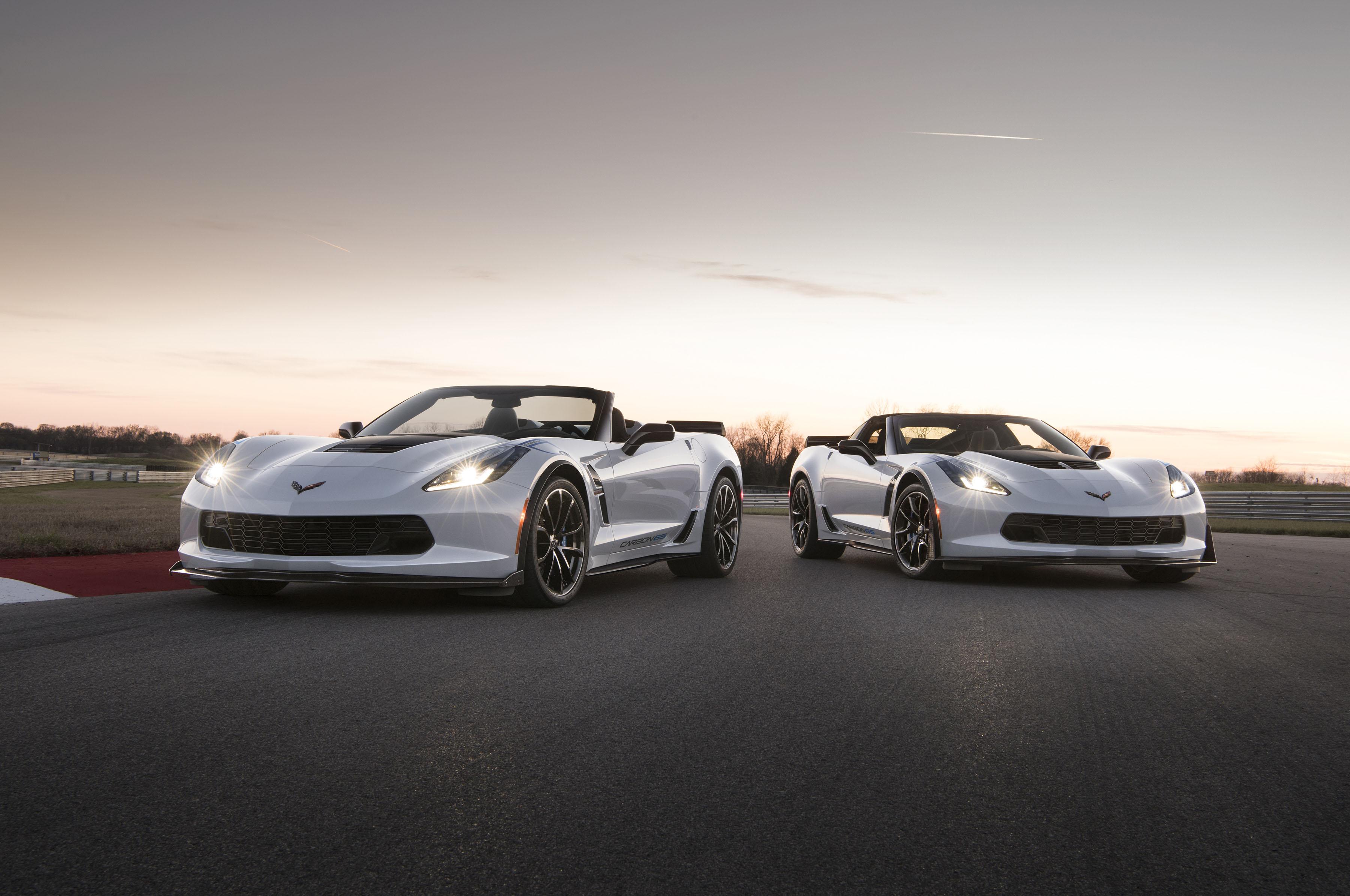 2018 Chevrolet Corvette Carbon 65 Edition Models