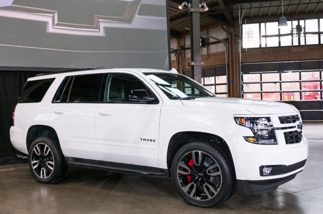 2018 Chevrolet Tahoe RST is Ready to Pound Pavement ...