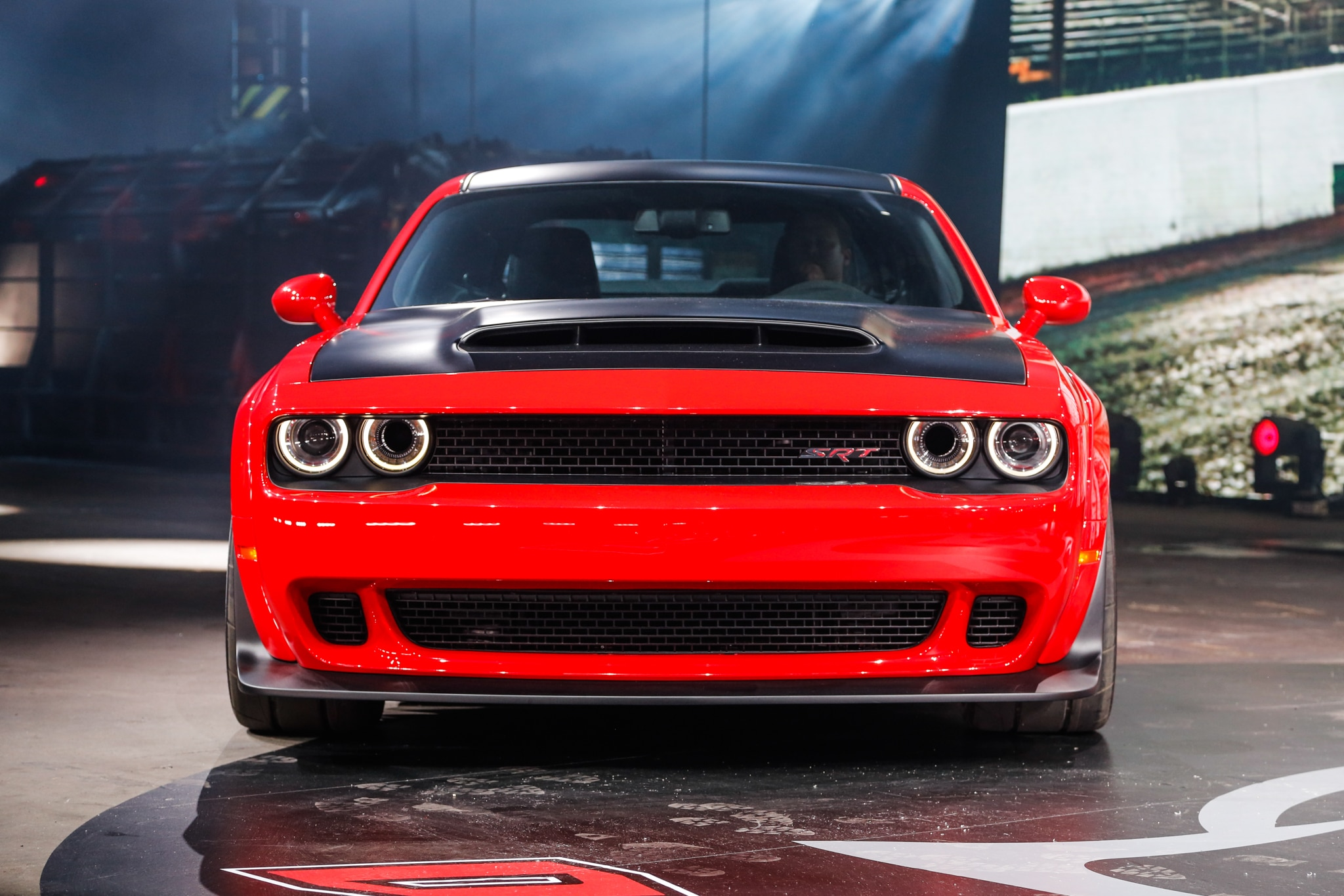 2018 dodge challenger srt demon arrives with 840 horsepower for the track automobile magazine. Black Bedroom Furniture Sets. Home Design Ideas