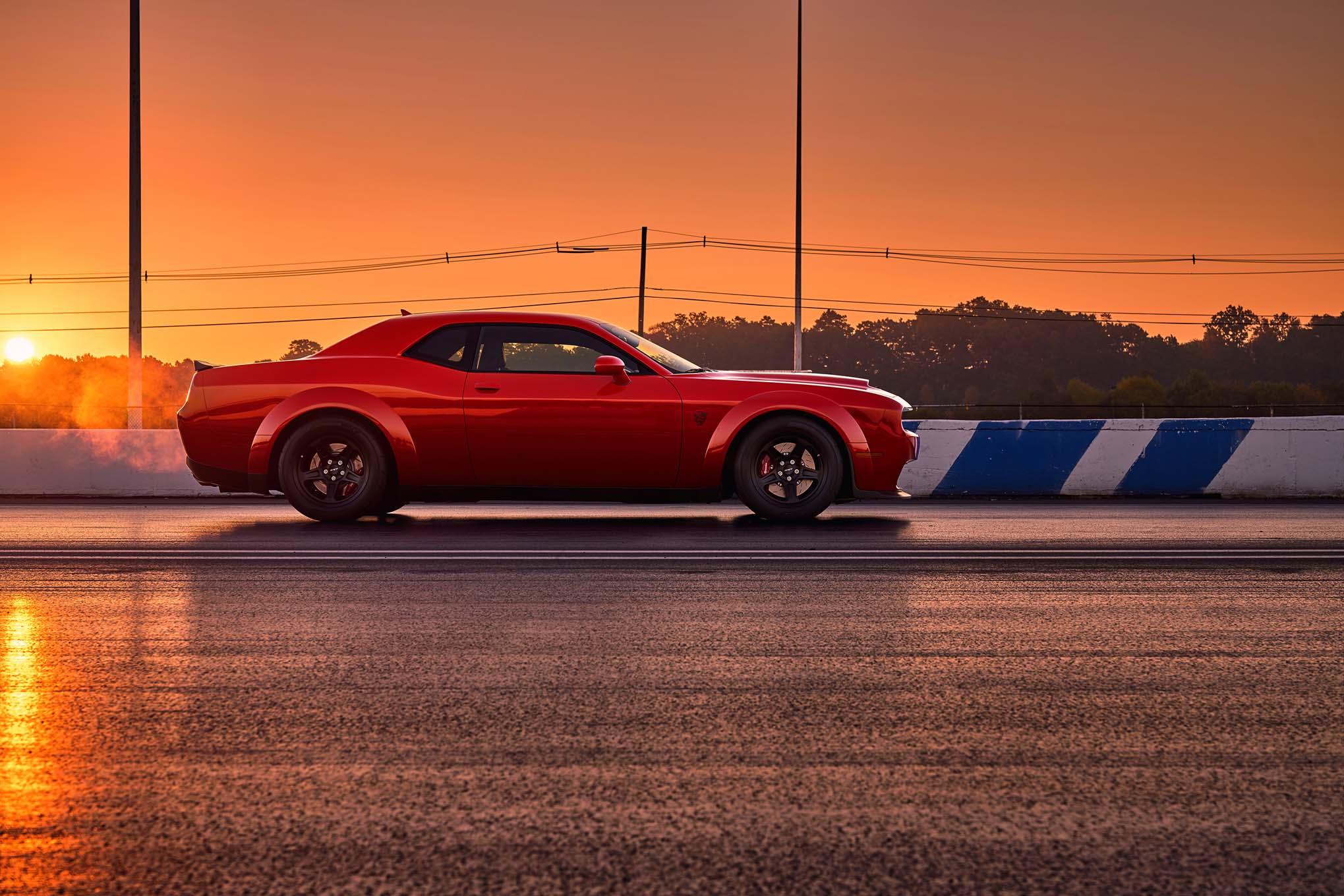 2018 Dodge Challenger SRT Demon Side Profile 02
