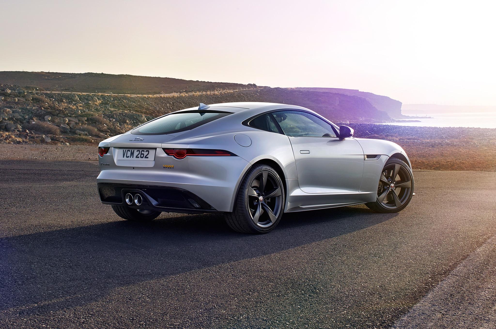 refreshed 2018 jaguar f type gains 296 hp turbo 2 0l ingenium i 4 automobile magazine. Black Bedroom Furniture Sets. Home Design Ideas